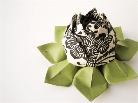 origami black lotus sale origami lotus flower decoration or favor black