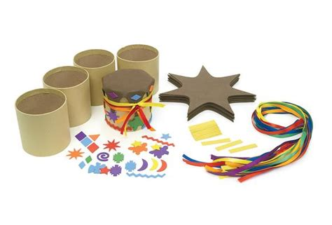 drum crafts for easy to make drum craft kit set of 12