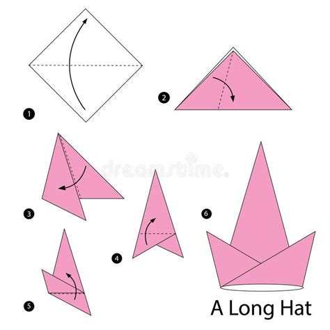 how to make an origami hat step by step step by step how to make origami a hat
