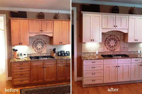 kitchen cabinet painting before and after painting kitchen cabinets before and after photos all