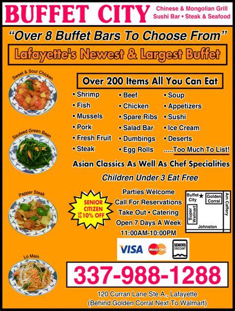buffet city coupons buffet city lafayette la 70506 yellowbook