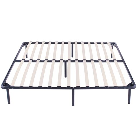 bed frames slats king size wood slats metal bed frame platform foundation