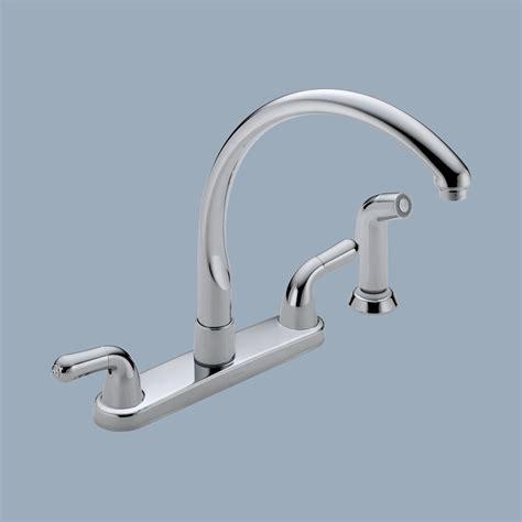 delta two handle kitchen faucet delta two handle kitchen faucet photo 7 kitchen ideas