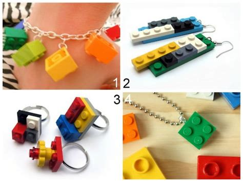 how to make lego jewelry 4 creative crafts with lego blocks how to