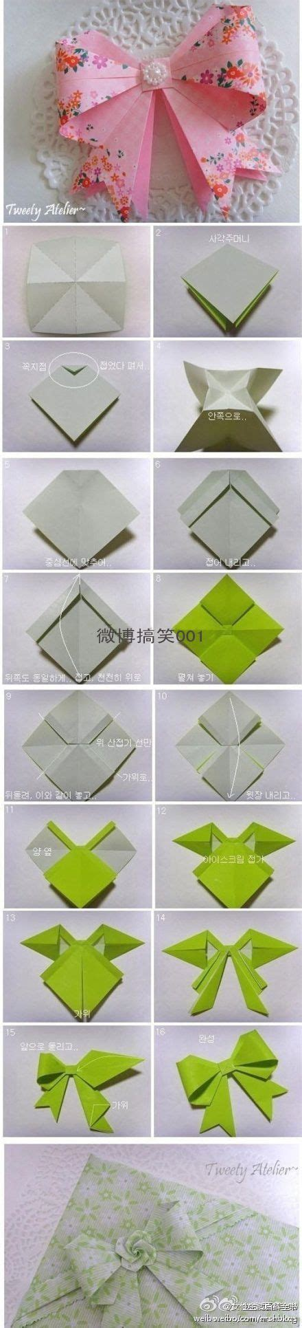 origami gift bow origami bows crafty