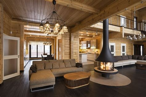 maison home interiors luxury log home interior quality wooden house from finland