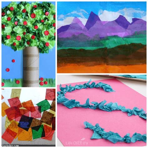 crafts to do with tissue paper beautiful tissue paper crafts for what can we do
