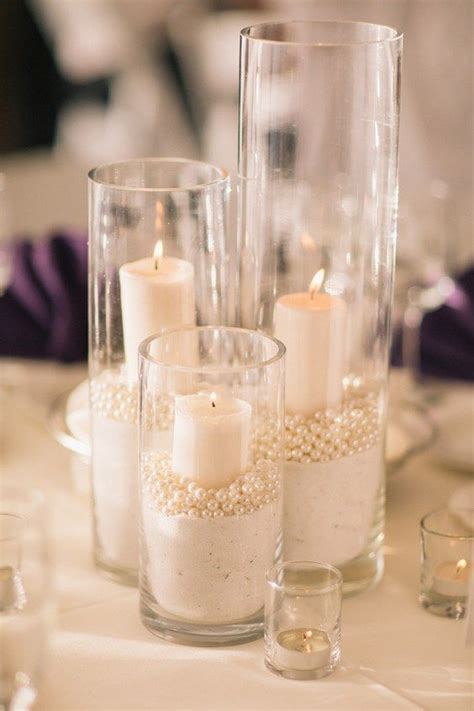 diy wedding centerpieces candles best 25 candle centerpieces ideas on diy