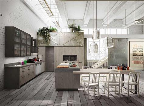 industrial loft kitchen with light industrial loft kitchen with light wood in design digsdigs