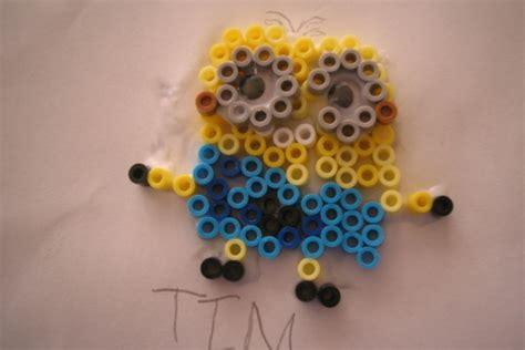 minion perler bead perler bead minion diy