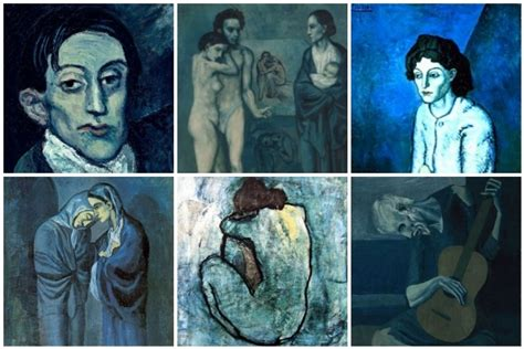 picasso paintings from the blue period unleash your inner toddler welcome to dollarsandart by
