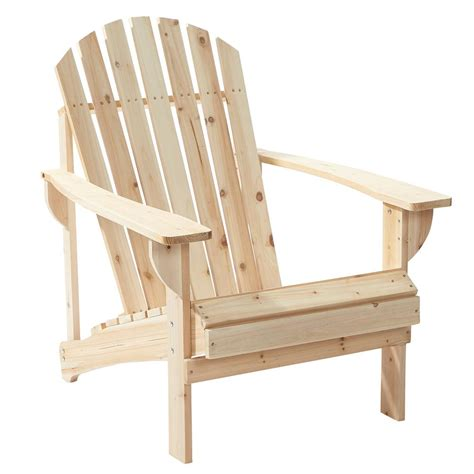 Unfinished Wood Adirondack Chairs by Unfinished Wood Patio Adirondack Chair 11061 1 The Home