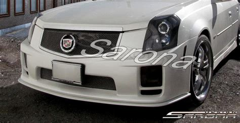 2003 Cadillac Cts Front Bumper by Custom Cadillac Cts Front Bumper Sedan 2003 2007