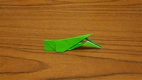 origami grasshopper simple origami lesson 56 grasshopper