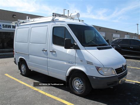 2006 Dodge Sprinter by 2006 Dodge Sprinter 2500 2 7 Turbo Diesel 25mpg 118 Quot Wb