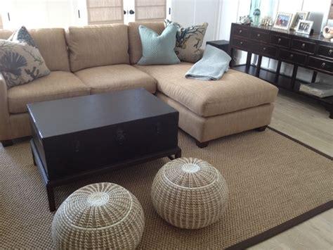 brown rugs for living room sisal area rug brown microfiber binding traditional
