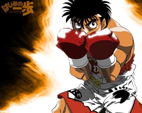 My Thoughts On Hajime No Ippo Animefangirl Animefangirl