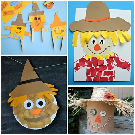 paper bag scarecrow craft for preschoolers best 25 scarecrow crafts ideas on november
