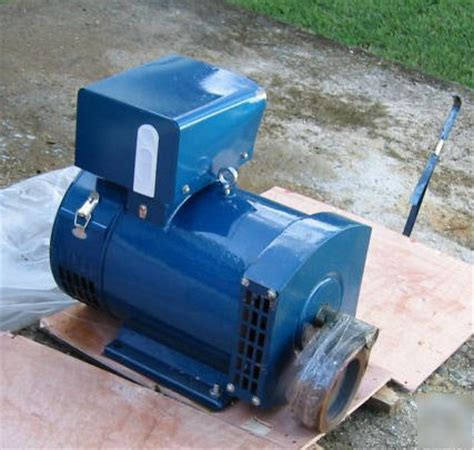 rubber st generator free new 2 kw st generator free pulley
