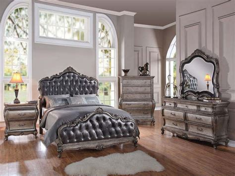 granite top bedroom furniture sets traditional 5 granite top cal or estern king bed
