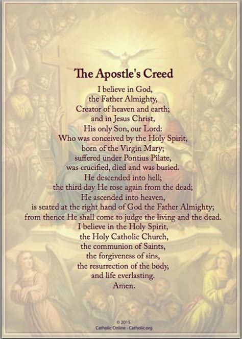 prayer meaning 1000 ideas about apostles creed on nicene