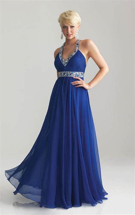 blue beaded dress 6741 halter royal blue beaded prom