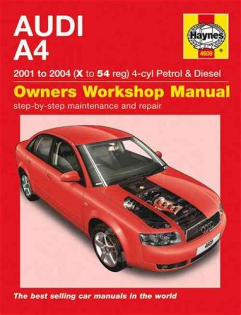 manual repair autos 2001 audi tt free book repair manuals audi a4 4 cyl petrol diesel 2001 2004 haynes service
