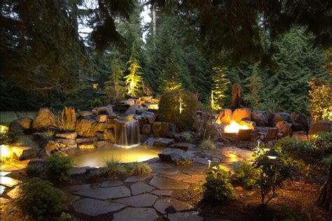 light garden 29 fantastic garden lighting ideas