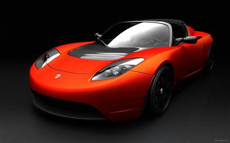 Sport Car Wallpaper Hd by Tesla Roadster Sports Car Wallpapers Hd Wallpapers Id
