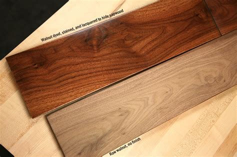 woodworking finishing how to make walnut woodworking projects look great with