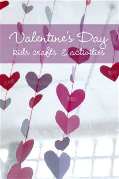valentines day craft projects s day crafts activities for