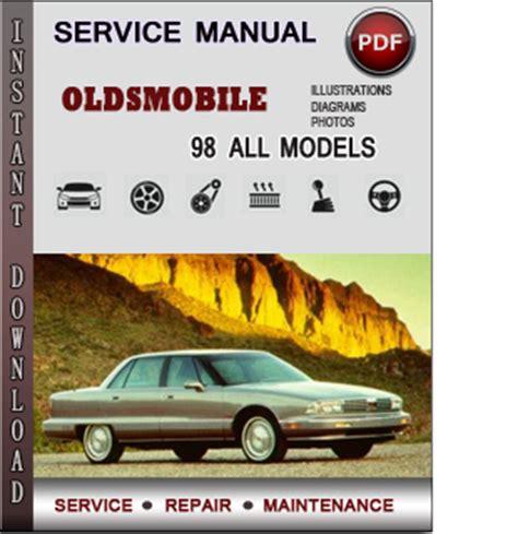 oldsmobile 98 service repair manual download info service manuals