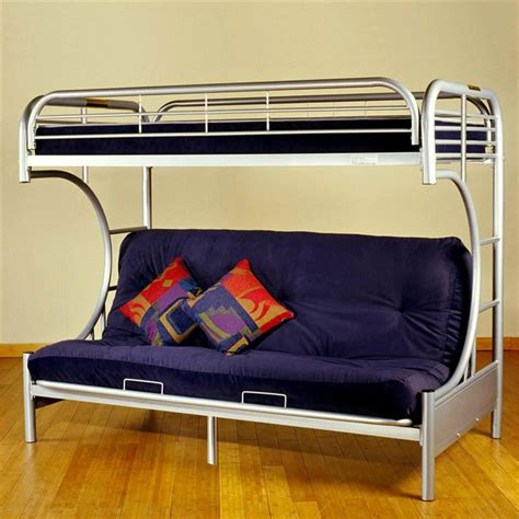 study bunk bed frame with futon chair bunk bed frame with futon study bunk bed frame with
