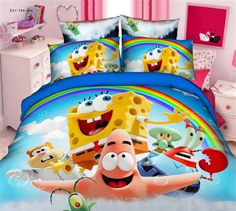 spongebob bed sets get cheap spongebob bedding set aliexpress