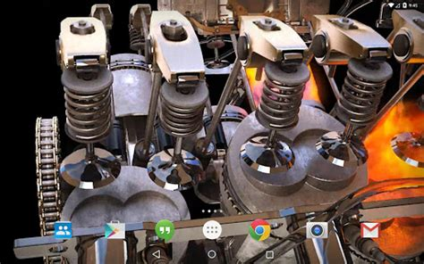 Live Car Engine Wallpaper by New 3d Engine Live Wallpaper For Pc