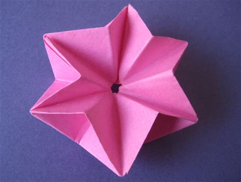 6 pointed origami how to make a 3d 6 pointed origami