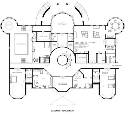 floor plans mansions a hotr reader s revised floor plans to a 17 000 square foot mansion homes of the rich