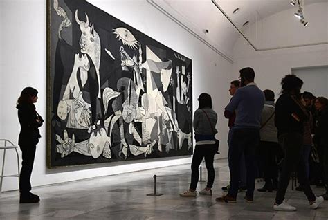 picasso paintings madrid museum picasso s anti war painting guernica resonates even