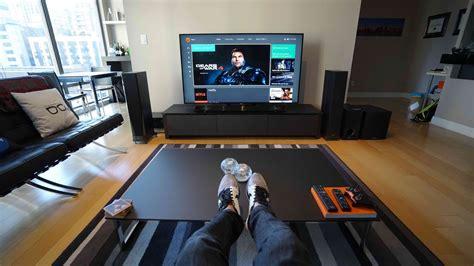 tv living room ultimate 4k tv setup tech living room tour