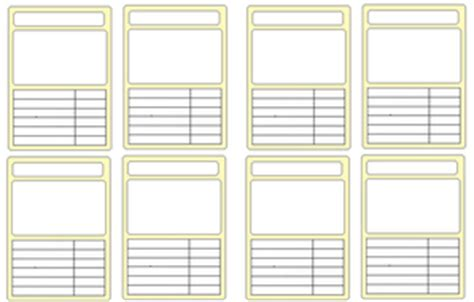 make your own top trumps cards completely blank template for top trumps by gemraroloz