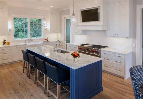 tv in kitchen ideas coastal interior design ideas home bunch interior design ideas