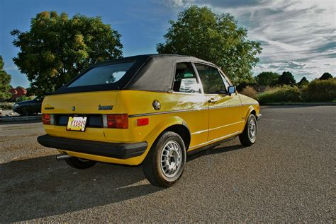 Volkswagen Cabriolet Convertible by 1982 Volkswagen Rabbit Convertible Cabriolet