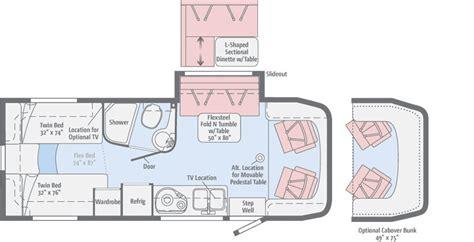 floor plan vr navion floorplans winnebago rvs