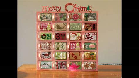 musical advent calendar wooden wooden advent calendar