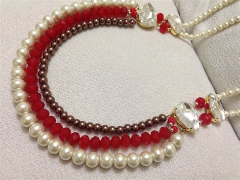 to make beaded jewelry how to make necklace diy beaded necklace pearl jewelry
