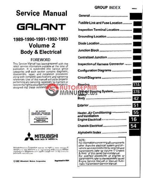 mitsubishi 3000gt 1991 service manual pdf download autos post