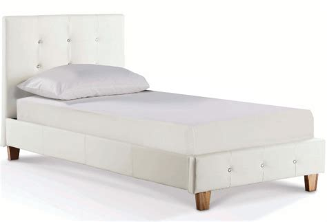 or single bed diamante white 3ft bed single bed