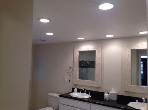 bathroom lighting placement bathroom recessed lighting installation coronado san diego