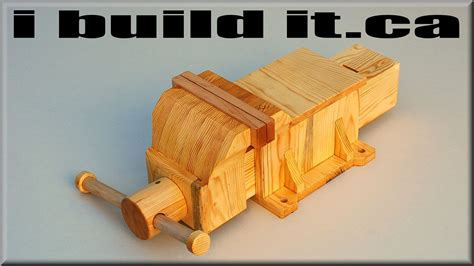 how to make wooden a wooden vise