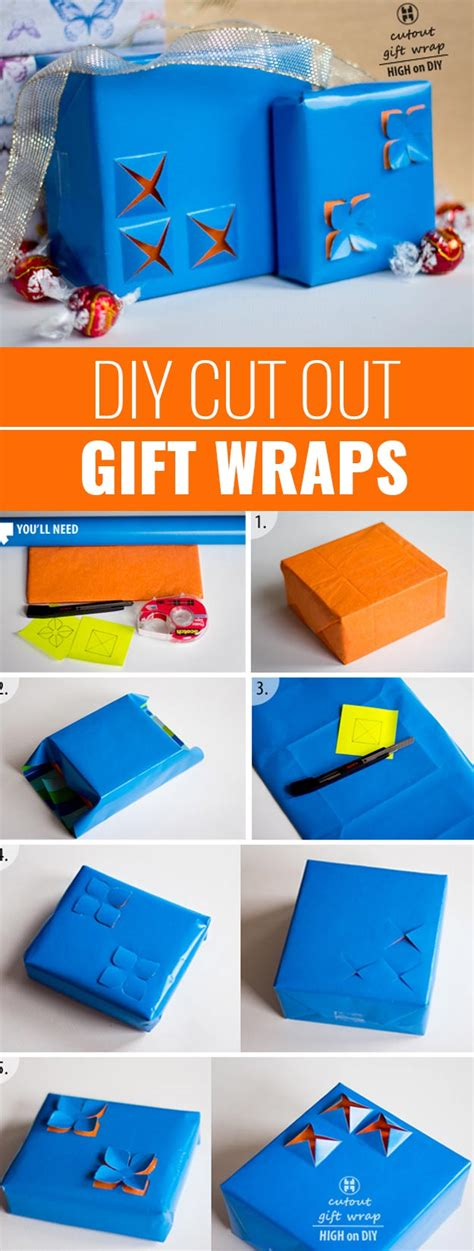diy gift wrapping ideas diy do it your self